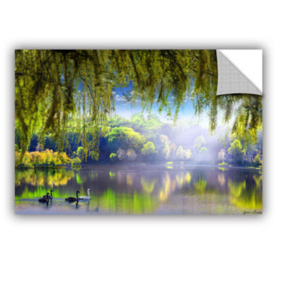 Brushstone Spring Waters Removable Wall Decal