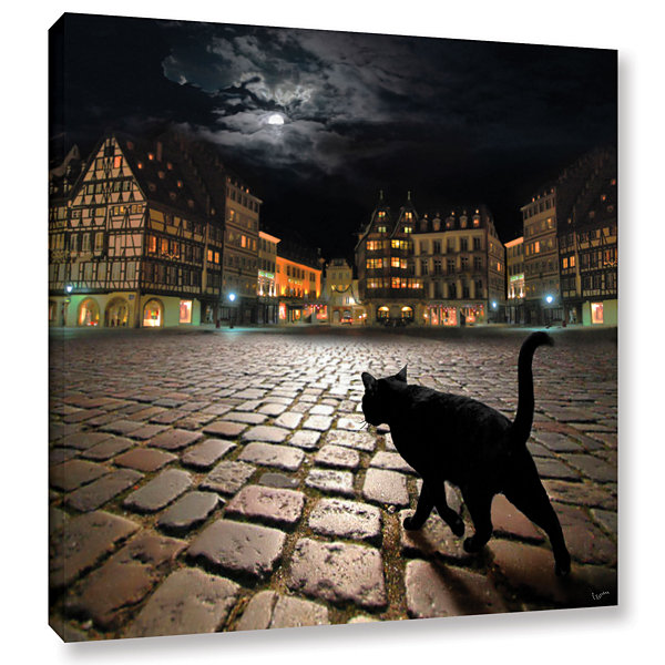 Brushstone Starsbourg's Night Gallery Wrapped Canvas Wall Art