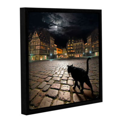 Brushstone Starsbourg's Night Gallery Wrapped Floater-Framed Canvas Wall Art