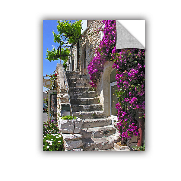 Brushstone St Paul De Vence  France Removable WallDecal
