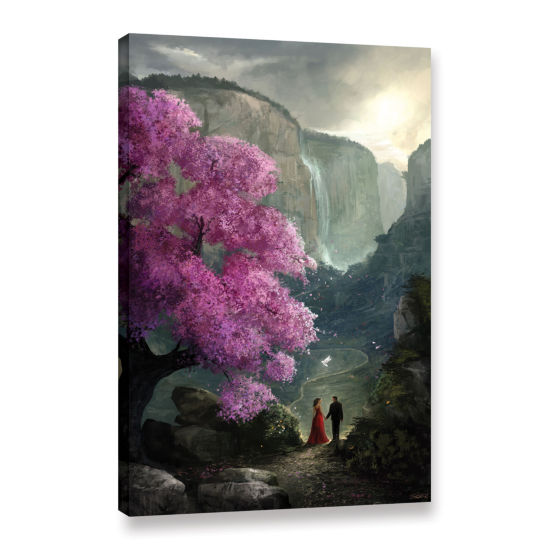Brushstone The Path Gallery Wrapped Canvas Wall Art