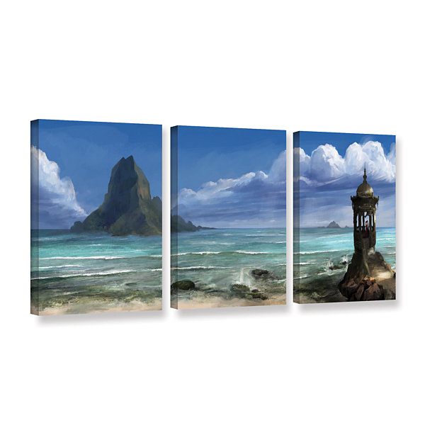 Brushstone The Proposal 3-pc. Gallery Wrapped Canvas Wall Art