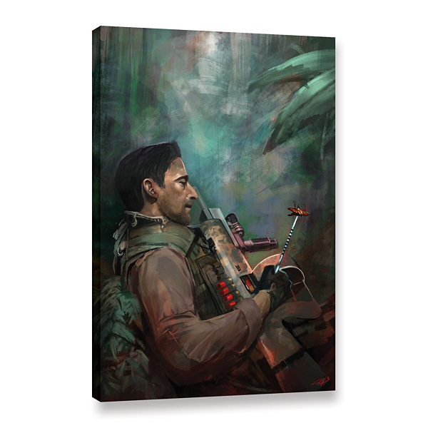 Brushstone The Hunting Of Man Gallery Wrapped Canvas Wall Art