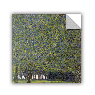 Brushstone The Park By Gustav Klimt Removable WallDecal