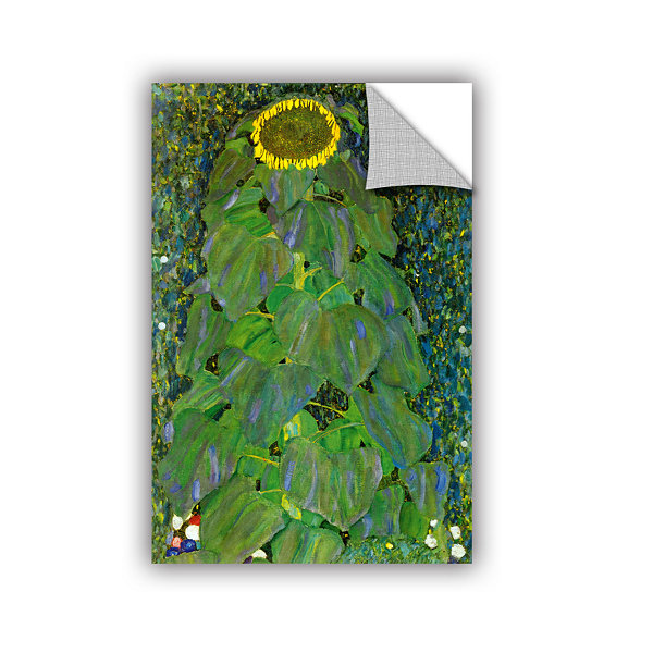 Brushstone The Sunflower By Gustav Klimt RemovableWall Decal