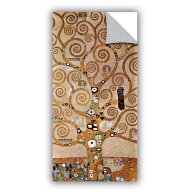 Brushstone Tree Life By Gustav Klimt Removable Wall Decal