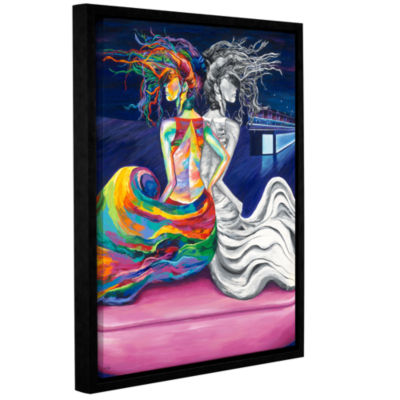 Brushstone The Waiting Game Gallery Wrapped Floater-Framed Canvas Wall Art
