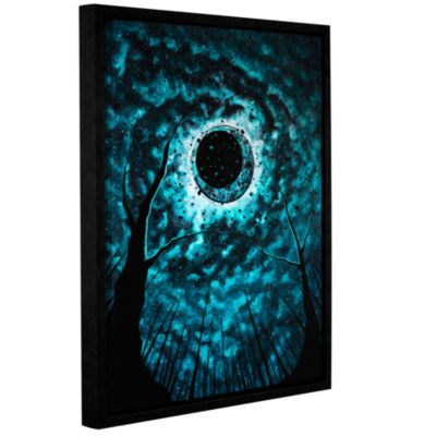 Brushstone The Night Belongs To Us Gallery WrappedFloater-Framed Canvas Wall Art