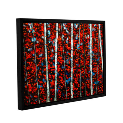 Brushstone The Wind Carries Tomorrow Gallery Wrapped Floater-Framed Canvas Wall Art