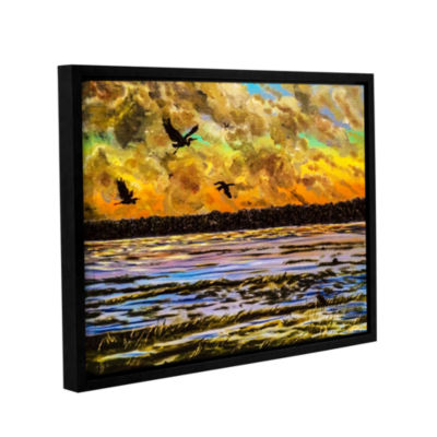 Brushstone The Wings Gallery Wrapped Floater-Framed Canvas Wall Art