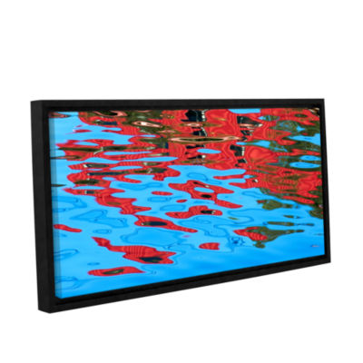 Brushstone Tofino Reflections Gallery Wrapped Floater-Framed Canvas Wall Art