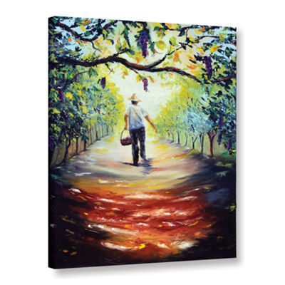 Brushstone The Vintner Gallery Wrapped Canvas WallArt