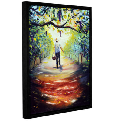 Brushstone The Vintner Gallery Wrapped Floater-Framed Canvas Wall Art