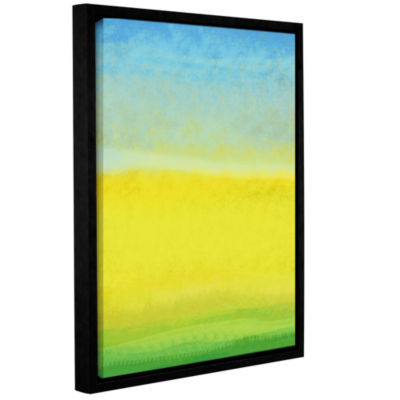 Brushstone The Land In Between Gallery Wrapped Floater-Framed Canvas Wall Art