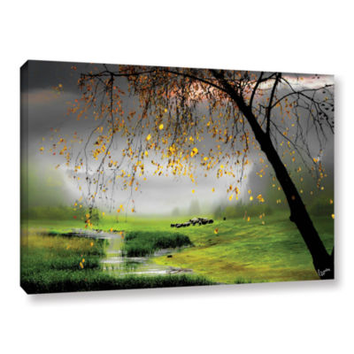 Brushstone Tranquillity Gallery Wrapped Canvas Wall Art