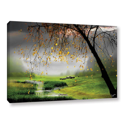 Brushstone Tranquility Gallery Wrapped Canvas WallArt