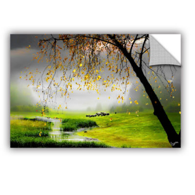 Brushstone Tranquillity Removable Wall Decal