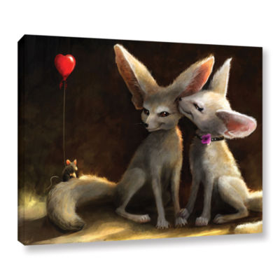 Brushstone Sweet Nothings Gallery Wrapped Canvas Wall Art