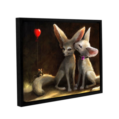 Brushstone Sweet Nothings Gallery Wrapped Floater-Framed Canvas Wall Art