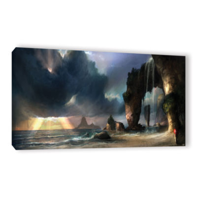 Brushstone The Beach Gallery Wrapped Canvas Wall Art