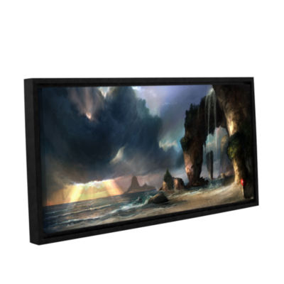 Brushstone The Beach Gallery Wrapped Floater-Framed Canvas Wall Art
