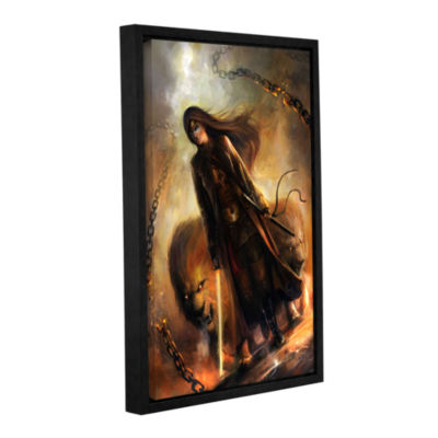 Brushstone The Good Path Gallery Wrapped Floater-Framed Canvas Wall Art