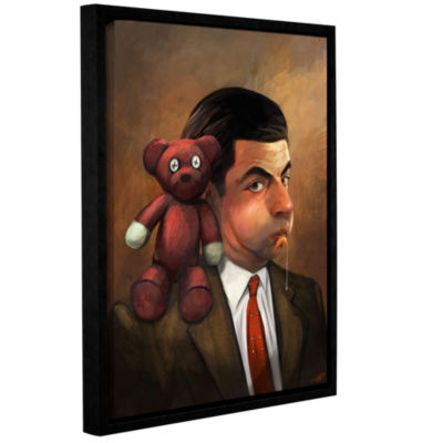 Brushstone The Goldfish Gallery Wrapped Floater-Framed Canvas Wall Art
