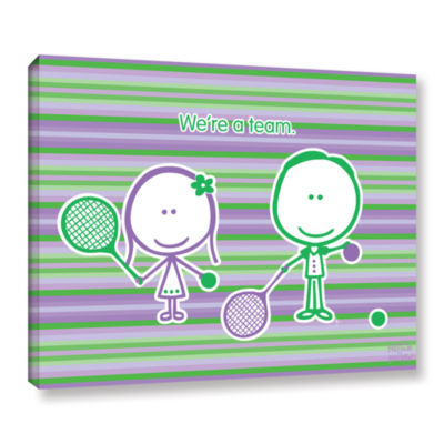 Brushstone Team Gallery Wrapped Canvas Wall Art