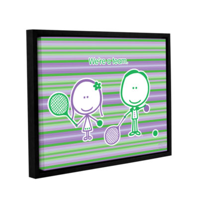 Brushstone Team Gallery Wrapped Floater-Framed Canvas Wall Art