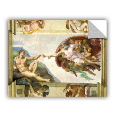 Brushstone The Creation Of Adam Removable Wall Decal