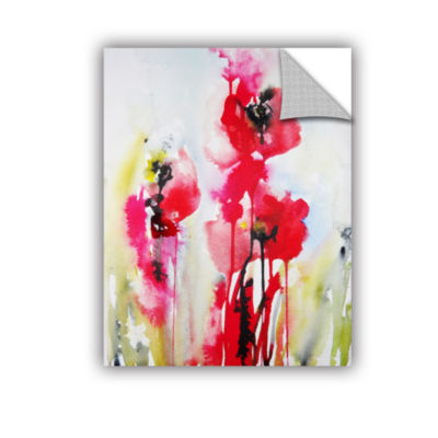 Brushstone Vivid Blossoms Removable Wall Decal