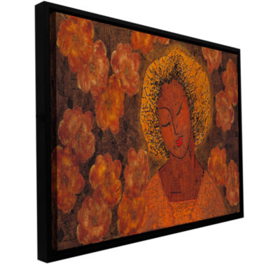 Brushstone Tahitian Dreams Gallery Wrapped Floater-Framed Canvas Wall Art