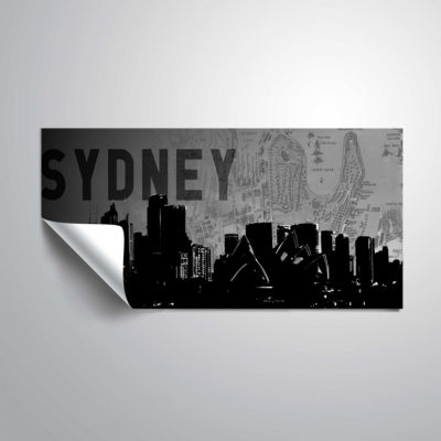 Brushstone Sydney Removable Wall Decal