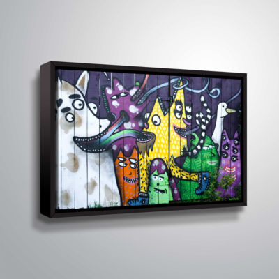Brushstone Taranki 101 Gallery Wrapped Floater-Framed Canvas Wall Art