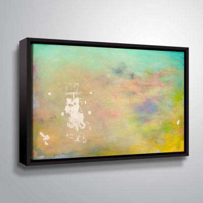 Brushstone Uli Island Gallery Wrapped Floater-Framed Canvas