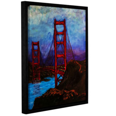 Brushstone The Beginning Gallery Wrapped Floater-Framed Canvas Wall Art