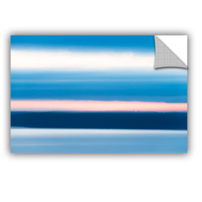 Brushstone Sunrise Blur Removable Wall Decal