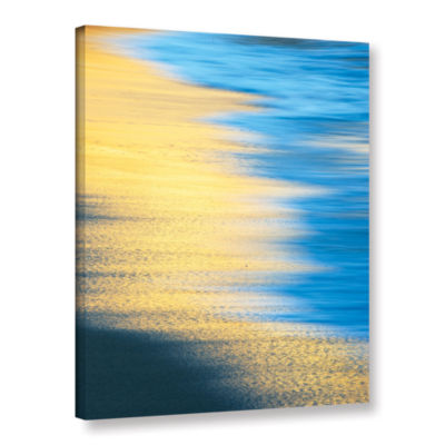 Brushstone Surf Sun Sand Gallery Wrapped Canvas Wall Art