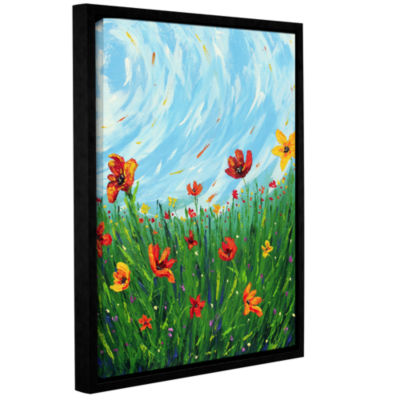 Brushstone The Dance Gallery Wrapped Floater-Framed Canvas Wall Art