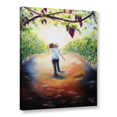 Brushstone The Caretaker Gallery Wrapped Canvas Wall Art