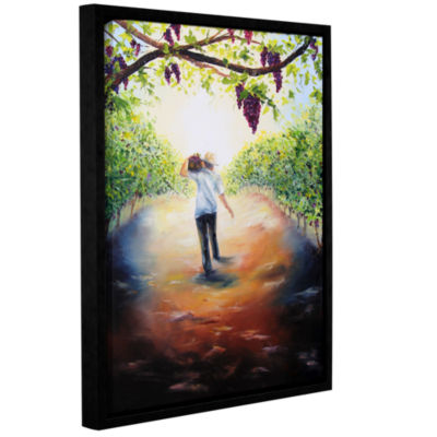 Brushstone The Caretaker Gallery Wrapped Floater-Framed Canvas Wall Art