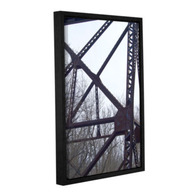 Brushstone Underbelly Gallery Wrapped Floater-Framed Canvas