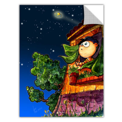 Brushstone UFO Kid 1 Removable Wall Decal