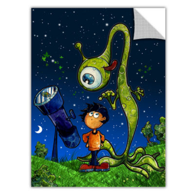Brushstone UFO Kid 2 Removable Wall Decal