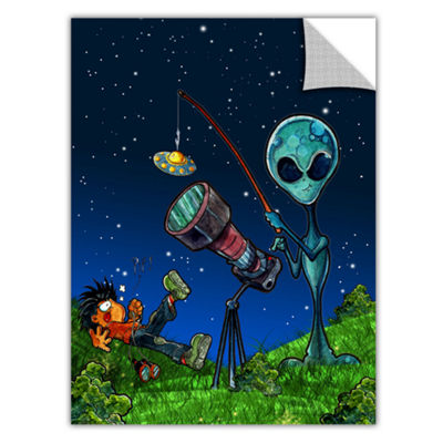 Brushstone Ufo Kid 3 Removable Wall Decal