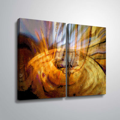 Brushstone Tempest Vortex 2-pc. Gallery Wrapped Canvas Wall Art