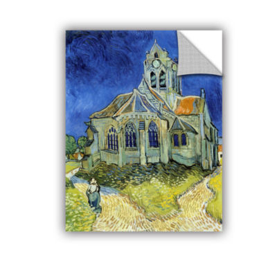 Brushstone The Church At Auvers Removable Wall Decal