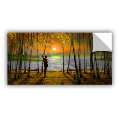 Brushstone Sunset Emotions Removable Wall Decal