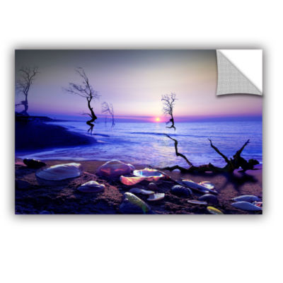 Brushstone Sunset Run Removable Wall Decal