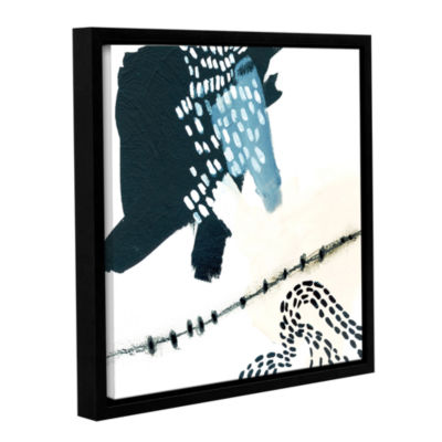 Brushstone Wander Gallery Wrapped Floater-Framed Canvas